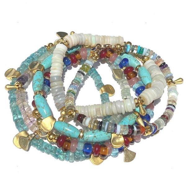 Heather Kahn - Essential Stone Bracelet (Opal)