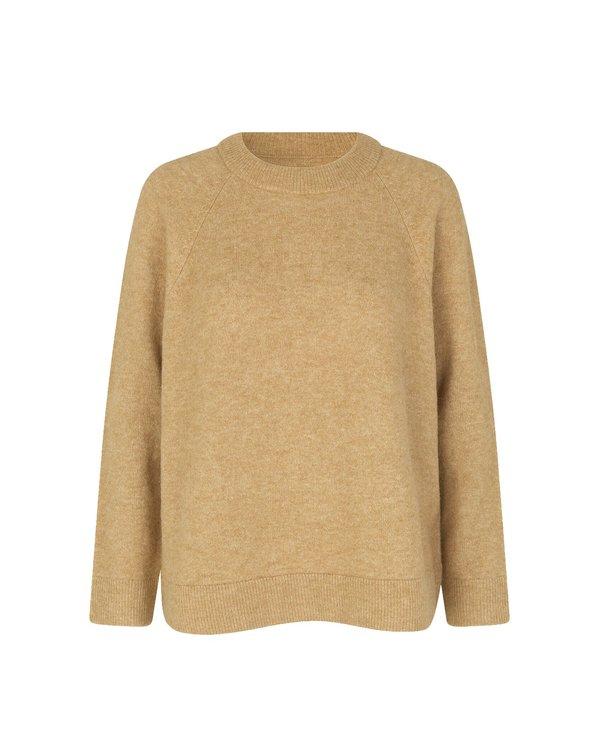 Samsøe & Samsøe Nor O-N Long 7355 Sweater - Starfish Melange