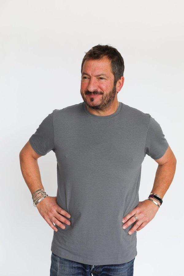 Pima Cotton Stretch T-Shirt