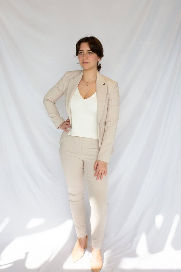 Tiger of Sweden Taika Trousers - Ivory