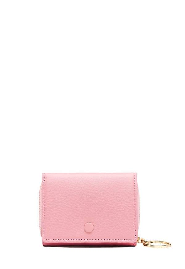 Mini Zip Around Wallet - Sweet Pink