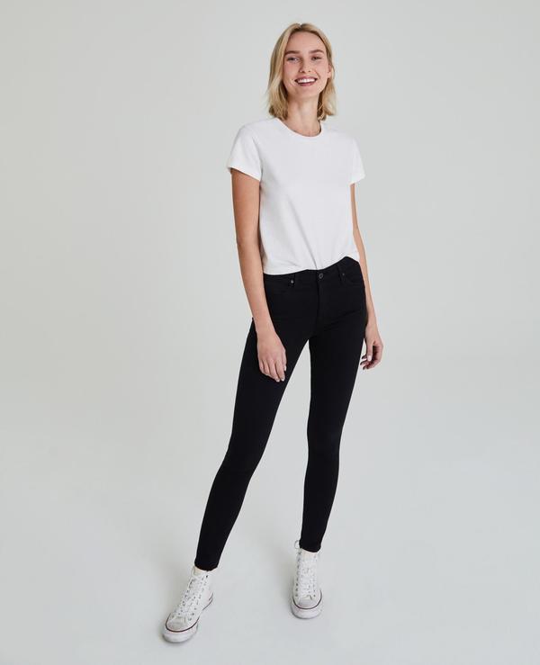 AG Jeans The Farrah Skinny denim - black