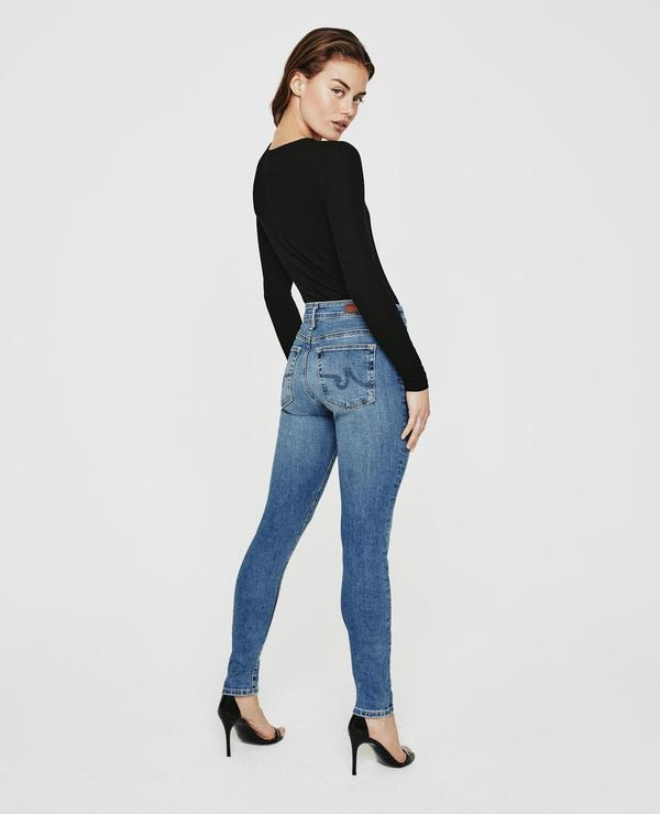 AG Jeans The Farrah Skinny denim - Cielo