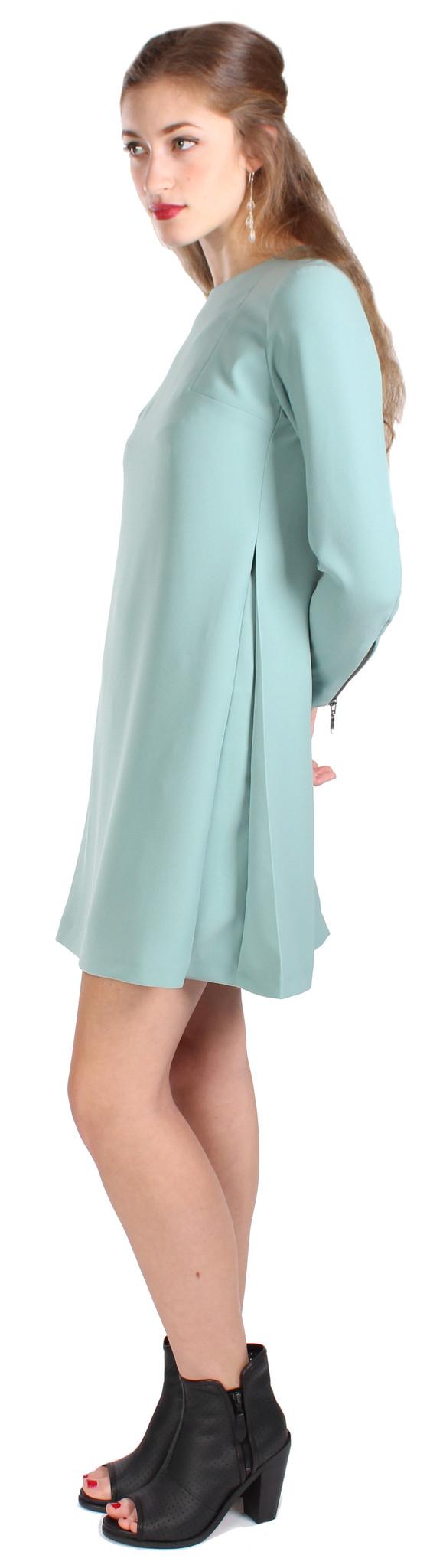 Hoss Intropia 3/4 Zipper Sleeve Dress