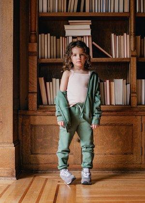 Kids Petits Vilains Michel Classic Sweatpant - Clover