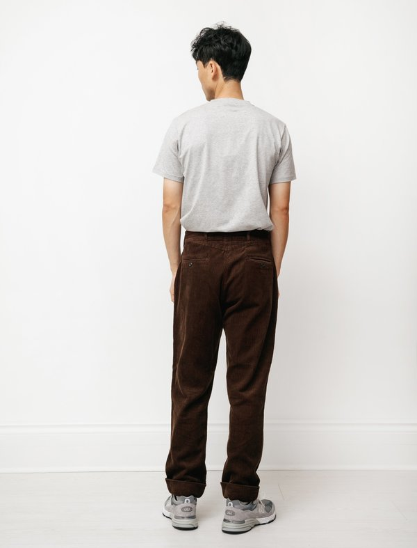 Engineered Garments Andover  8W Cord Pant - Brown