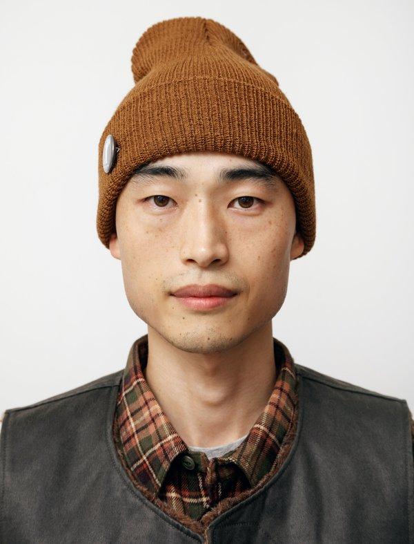 Engineered Garments Wool Watch Cap - Copper