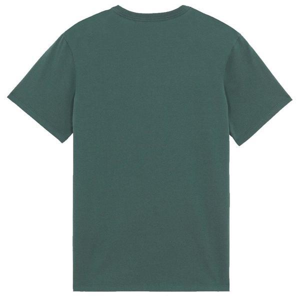 Grey Fox Head Patch Classic Tee-Shirt 'Dark Green'
