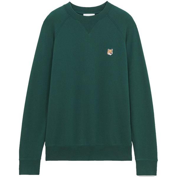 Fox Head Patch Classic Sweatshirt 'Dark Green'