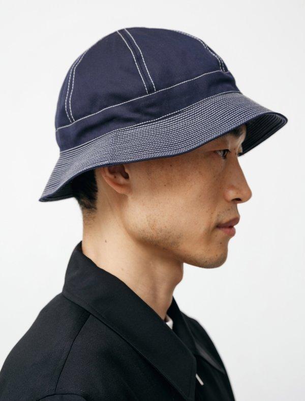 James Coward Kurosawa Hat - Navy