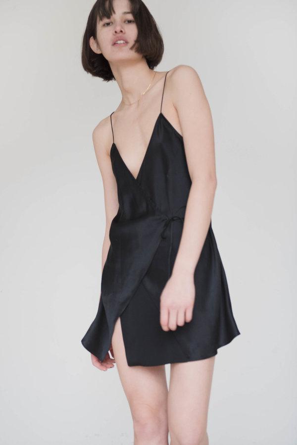 cbbded192366 Index Series Annecy Wrap Slip Dress | Garmentory