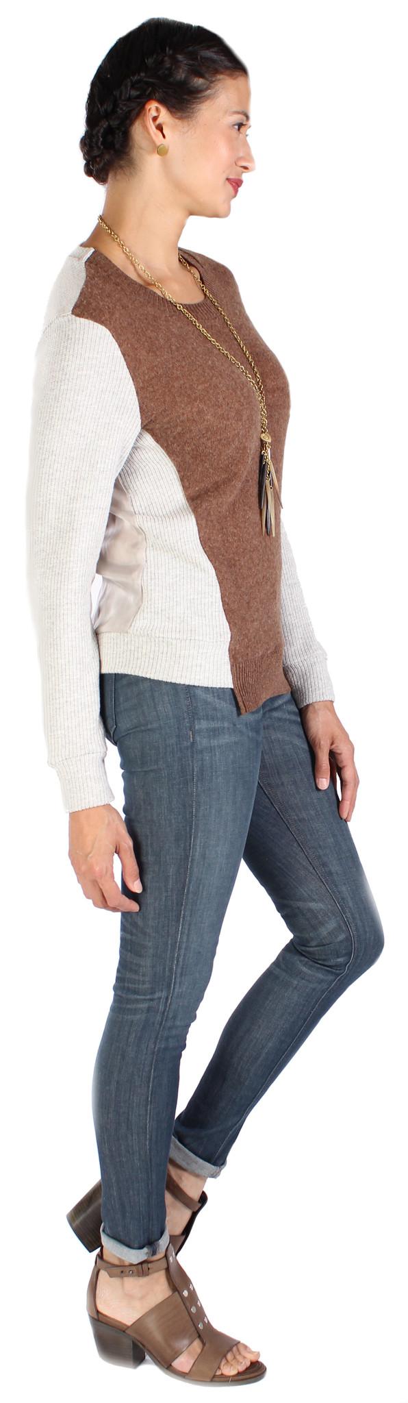 Clu Color Block Pullover