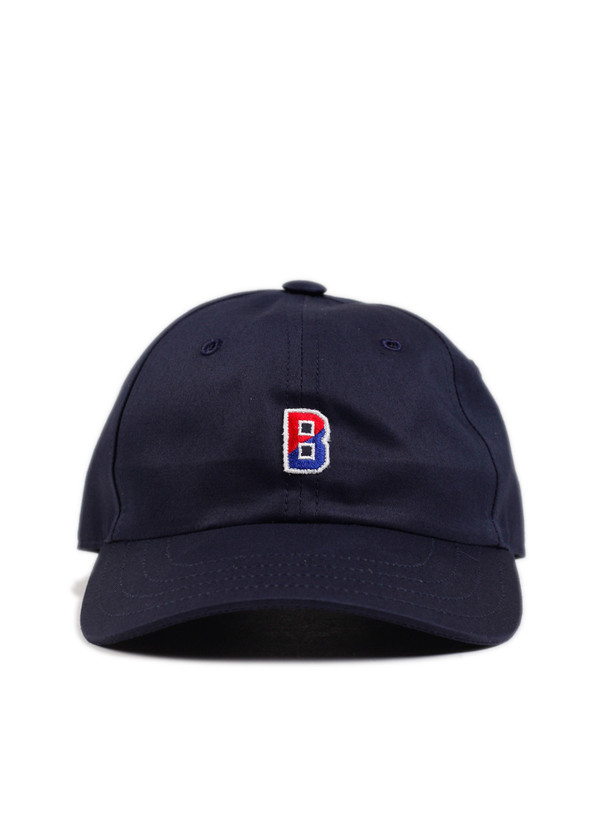 b620241024b92 Champion Reverse Weave Champion x Beams Baseball Cap Navy