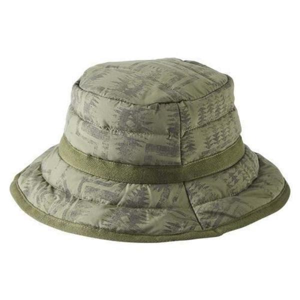 Pendleton Bucket Hat - Bottle Green/Charcoal Multi