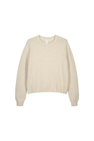 Kowtow escape crew sweater - greige