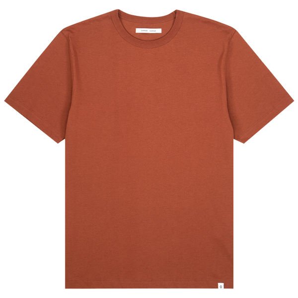 Samsoe Samsoe Hugo T-shirt - Cherry Mahogany