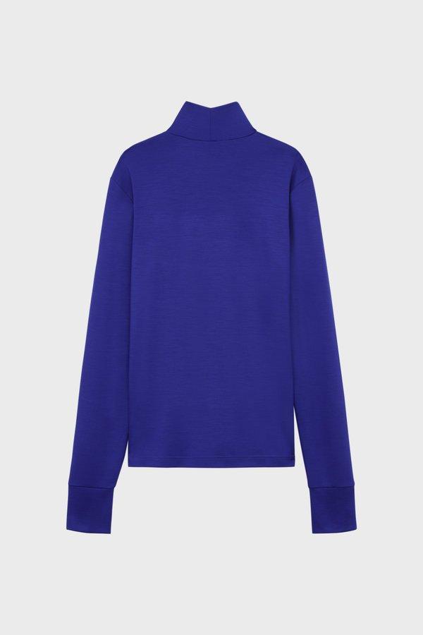 PHIPPS Wool Knit REDA Turtleneck - Blue Ink