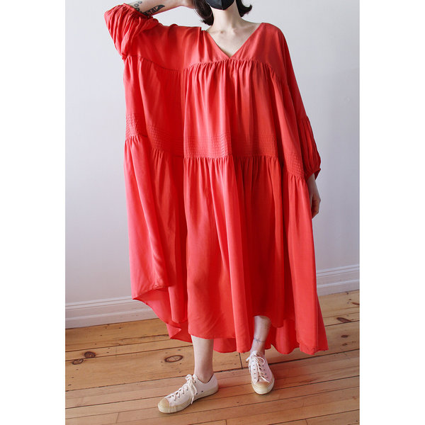 Anaak Airi Gypsy Maxi Dress - Scarlet Red
