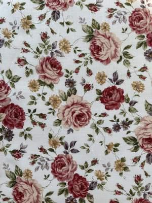 Loren Top in Floral Cotton Poplin