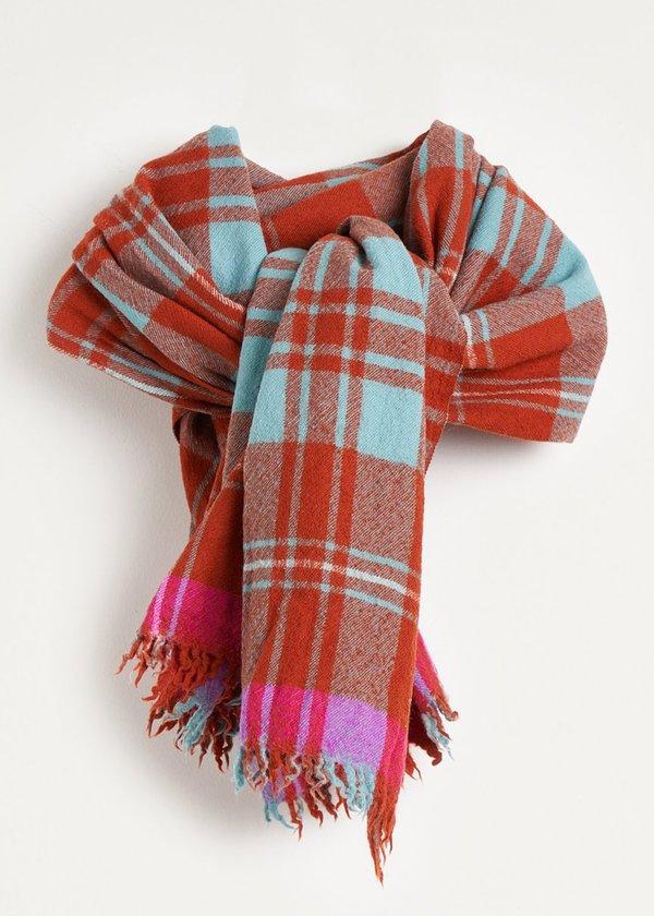 Bellerose Blanket Scarf - Check
