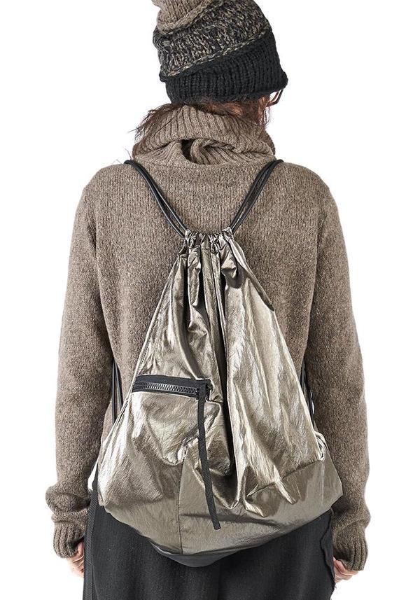Studio B3 Tenquo Metallic Backpack - Silver