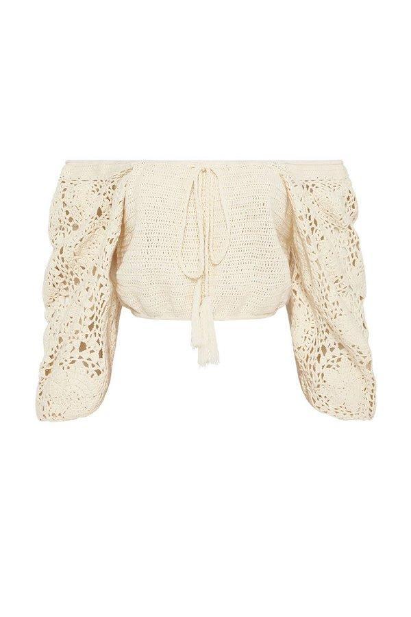Let the Sunshine In Crochet Top