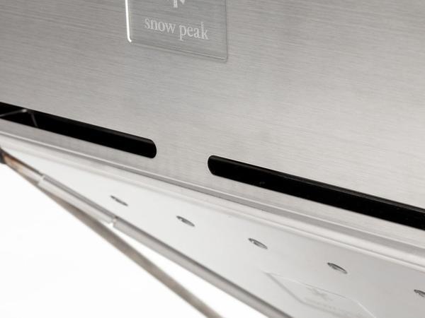 Totem Brand Co. Wall Floga L Snow Peak Takibi Fireplace - Stainless steel
