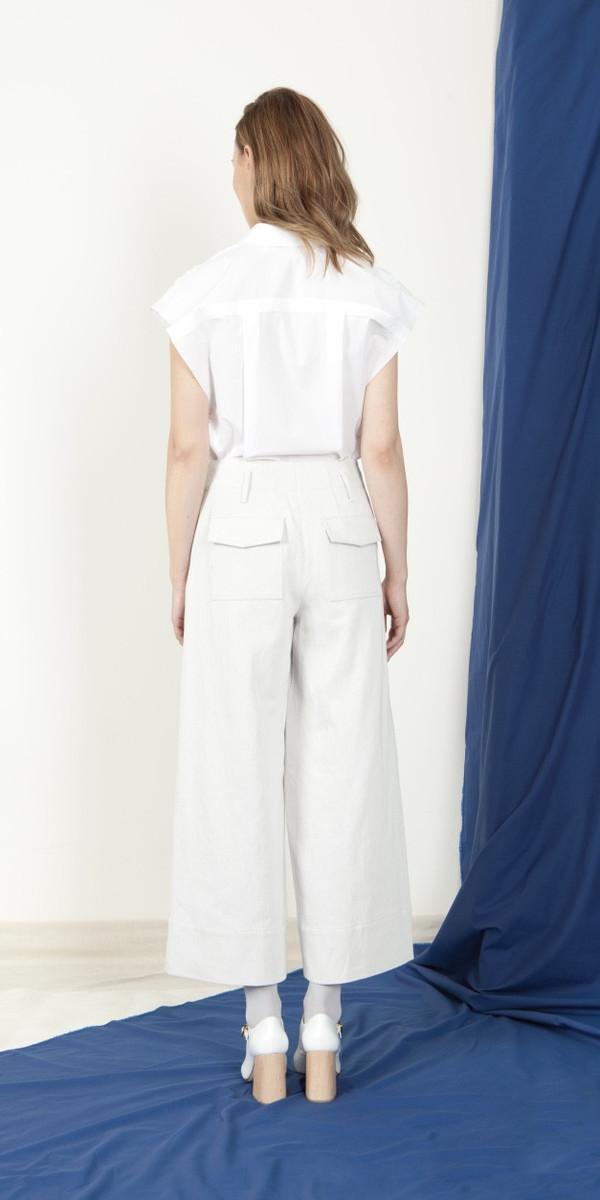 SCHAI Astro Extended Cap Shirt