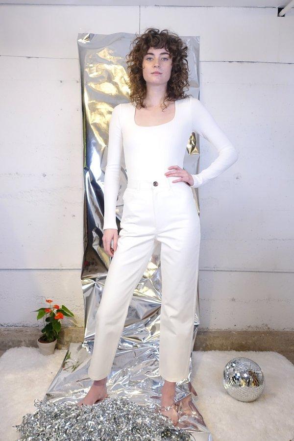 Mara Hoffman Fontana Pant - White