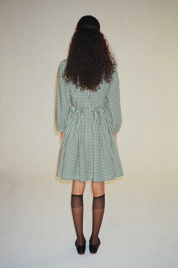 Sandy Liang Socks Dress - Jansport Gingham