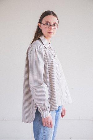Cawley Studio Alice Cotton Shirt - Stripe