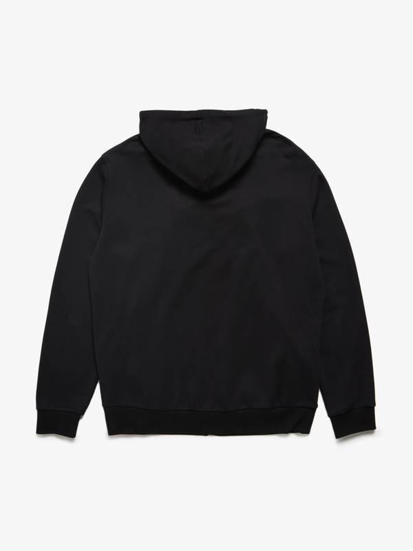 [Pre - Loved] Maison Margiela Zipped Cotton Hoodie - Black