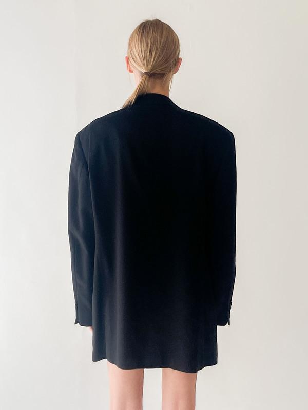 Black Cashmere Blazer (L)