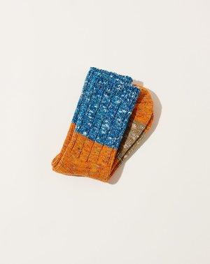 UnisexKapital 56 Yarns Gogh Stretch Socks -  Orange