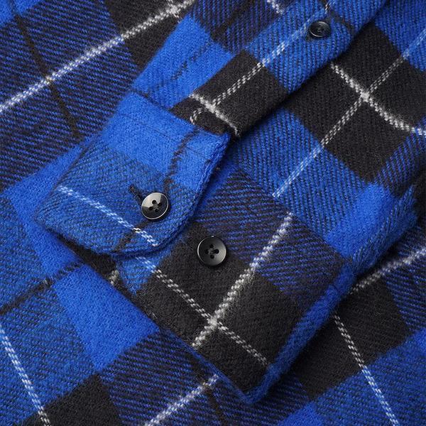 Portuguese Flannel Colorado Plaid Flannel Shirt - Blue