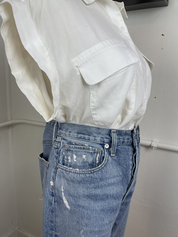 [pre-loved] AGOLDE Distressed 90s Jean - Blue