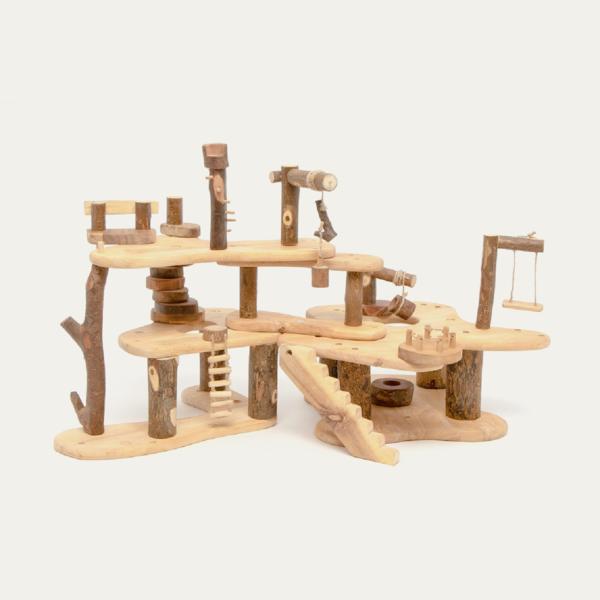 Tree Blocks Treehouse Dollhouse
