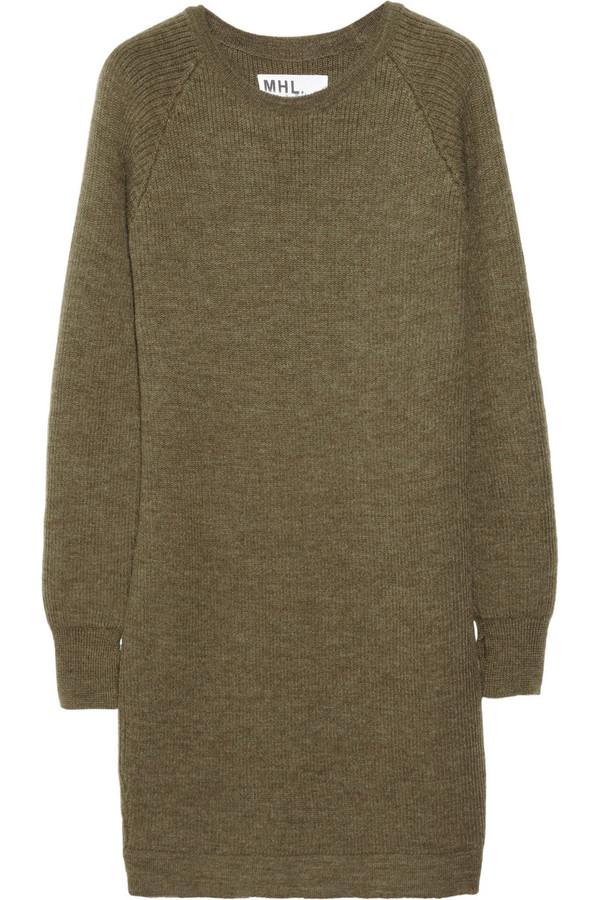 MHL by Margaret Howell Rib knit dress