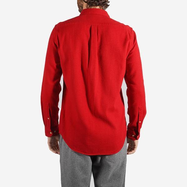 Portuguese Flannel Teca Flannel Shirt - Red