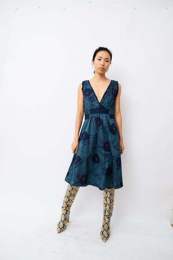 [Pre-loved] Marc Jacobs Printed Midi Dress