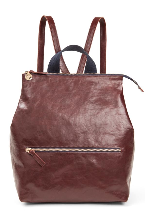 Clare V. Remi Backpack - Walnut Lightweight Rustic