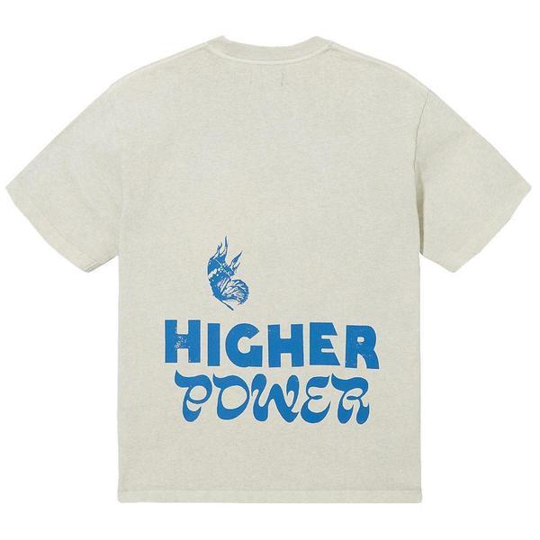 Higher Power - S/S Tee 'Grey'