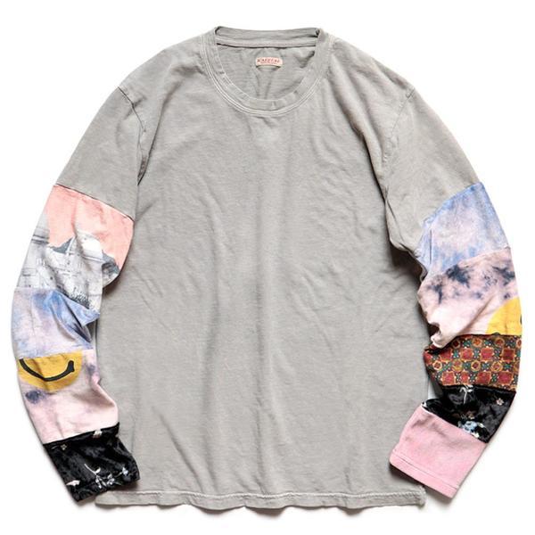 18.5 / -Tianzhu Hippie Ron L/S Tee 'Gray'