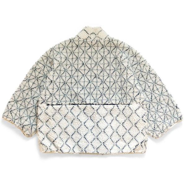 Do-Gi Sashiko BOA Fleece Kesa Jacket 'Ecru'