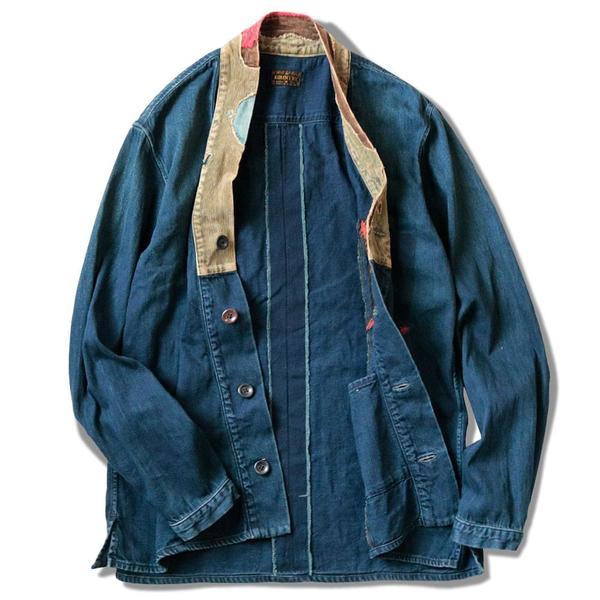 8oz IDG x IDG Denim Juban Shirt (DOTERA Remake) 'Indigo'