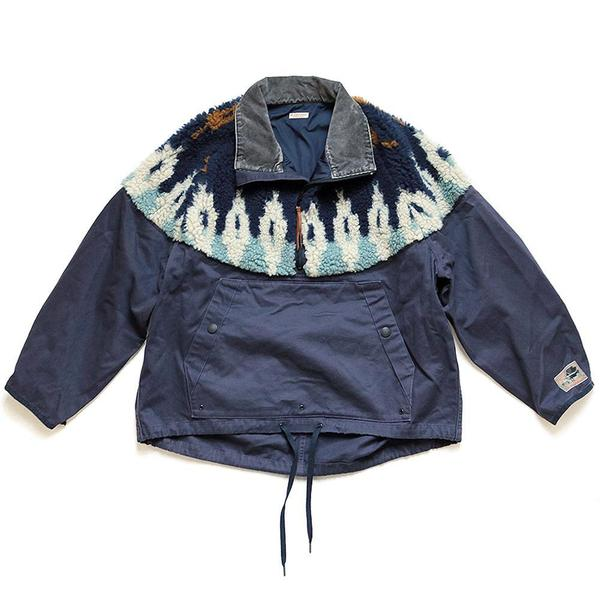 Chino x BOA Fleece Nordic Anorak 'Navy'