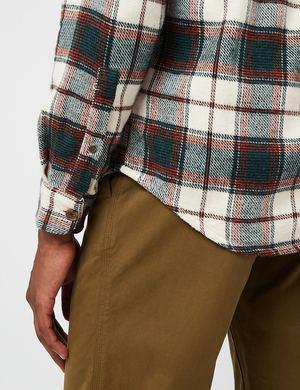 Portuguese Flannel Saint Patrick Field Shirt - Green