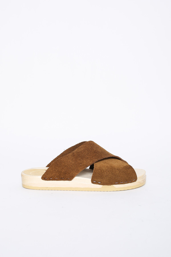 ea662298cea ... Frida Flat Clog in Bark Suede. sold out. No.6