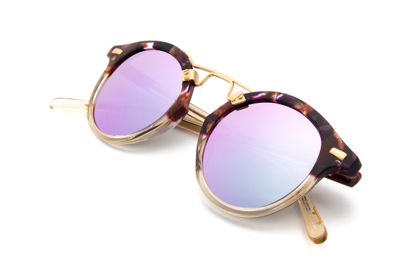 ce347daa8dfd Krewe du Optic St. Louis Sunglasses in Stardust to Champagne ...