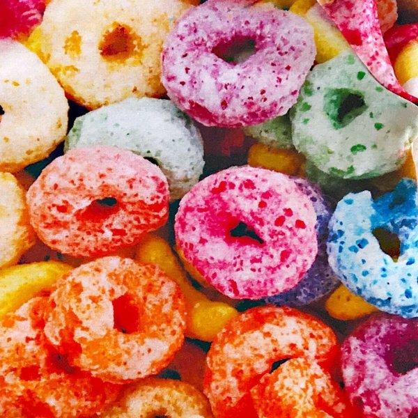 KIDS Romey Loves Lulu Shorts - Fruit Cereal
